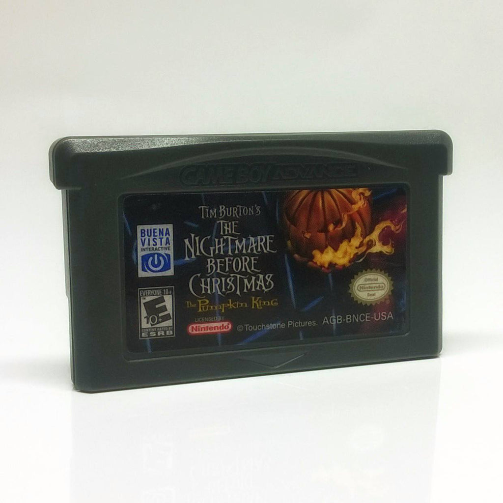 The Nightmare Before Christmas: The Pumpkin King Game Boy Advance Game
