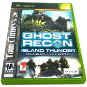 Tom Clancy's Ghost Recon: Island Thunder for Xbox - Front of case