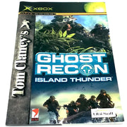 Tom Clancy's Ghost Recon: Island Thunder for Xbox - Front of manual