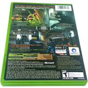 Tom Clancy's Splinter Cell: Pandora Tomorrow for Xbox - Back of case