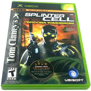 Tom Clancy's Splinter Cell: Pandora Tomorrow for Xbox - Front of case