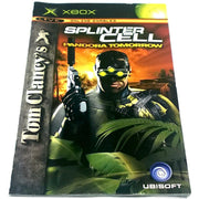 Tom Clancy's Splinter Cell: Pandora Tomorrow for Xbox - Front of manual