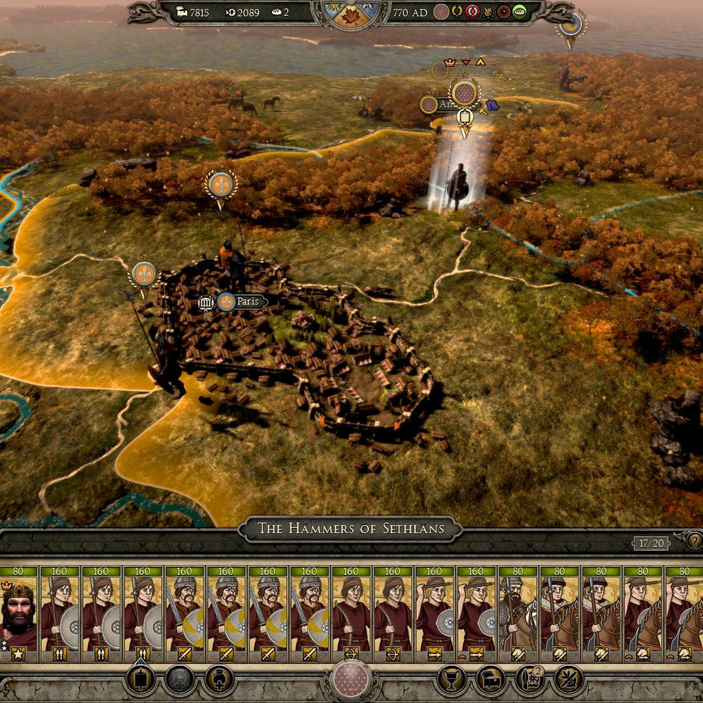Total War: ATTILA - Age of Charlemagne Campaign Pack Steam CD Key - Screenshot 2