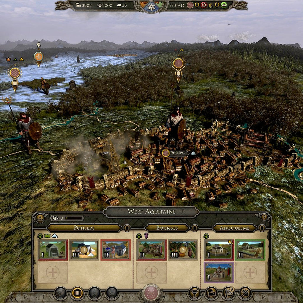 Total War: ATTILA - Age of Charlemagne Campaign Pack Steam CD Key - Screenshot 3