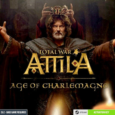 Total War: ATTILA - Age of Charlemagne Campaign Pack Steam CD Key