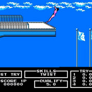 Track & Field II NES Nintendo Game - Screenshot