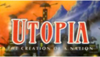 Utopia: The Creation of a Nation SNES Super Nintendo Game