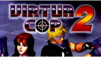 Virtua Cop 2 Import Sega Saturn Game