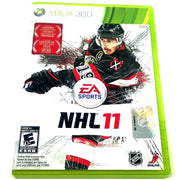 NHL 11 for Xbox 360 - Front of case