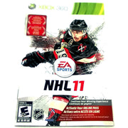 NHL 11 for Xbox 360 - Front of manual