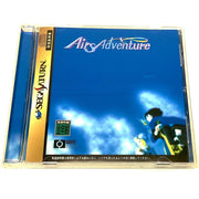 Airs Adventure for Saturn (import) - Front of case