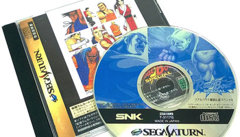 Real Bout Fatal Fury Special for Saturn (import)
