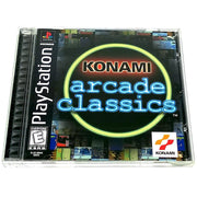 Konami Arcade Classics for PlayStation - Front of case
