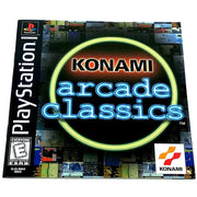 Konami Arcade Classics for PlayStation - Front of manual