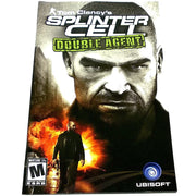 Tom Clancy's Splinter Cell: Double Agent for PlayStation 2 - Front of manual