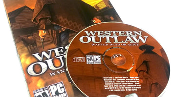 Western Outlaw: Wanted Dead or Alive for PC CD-ROM
