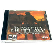 Western Outlaw: Wanted Dead or Alive for PC CD-ROM - Front of case
