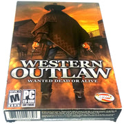 Western Outlaw: Wanted Dead or Alive for PC CD-ROM - Front of box