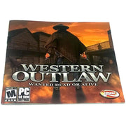 Western Outlaw: Wanted Dead or Alive for PC CD-ROM - Front of manual