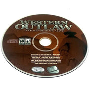 Western Outlaw: Wanted Dead or Alive for PC CD-ROM - Game disc