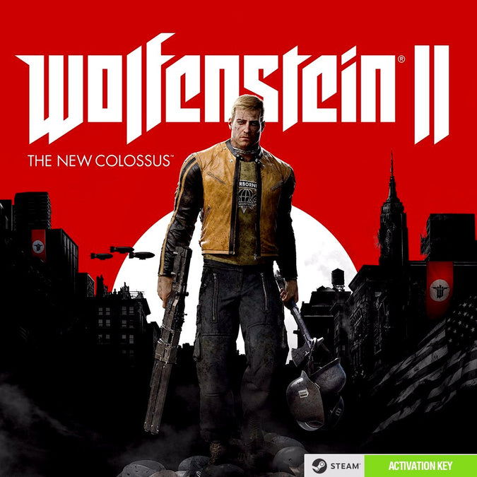 Wolfenstein II: The New Colossus PC Game Steam CD Key