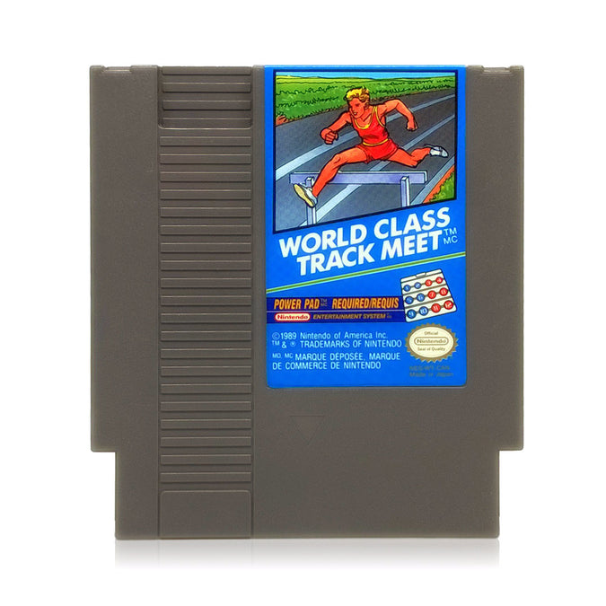 World Class Track Meet NES Nintendo Game - Cartridge
