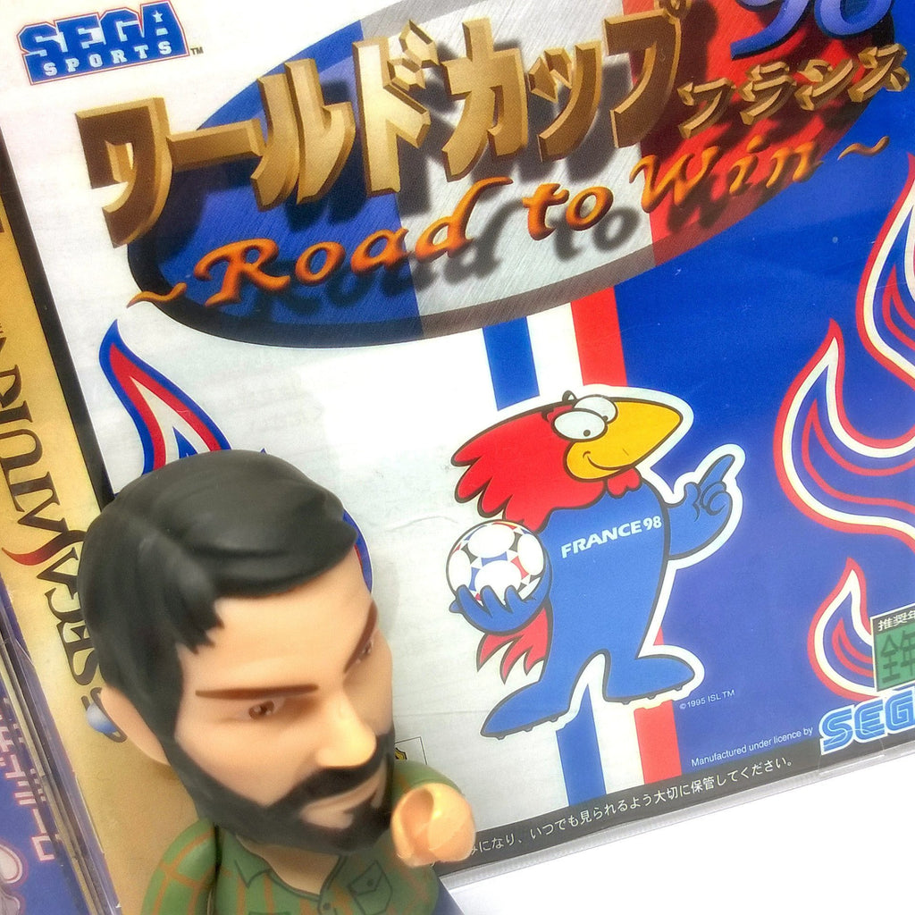 World Cup '98 France: Road to Win Import Sega Saturn Game