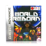 World Reborn Nintendo GBA Game Boy Advance Game - Box