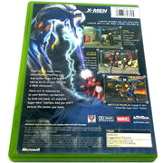 X-Men: Next Dimension for Xbox - Back of case