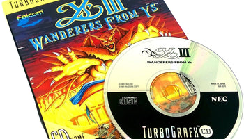 Ys III: Wanderers from Ys for TurboGrafx-16 CD (TG16)