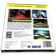 Ys III: Wanderers from Ys for TurboGrafx-16 CD - Back of box