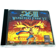 Ys III: Wanderers from Ys for TurboGrafx-16 CD - Front of case