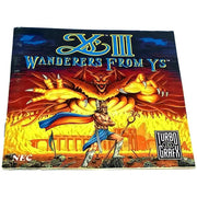 Ys III: Wanderers from Ys for TurboGrafx-16 CD - Front of manual
