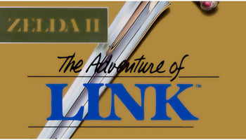 Zelda II: The Adventure of Link NES Nintendo Game