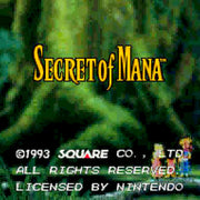 Zelda/Secret of Mana Super 4 in 1 SNES Super Nintendo Game - Screenshot 3