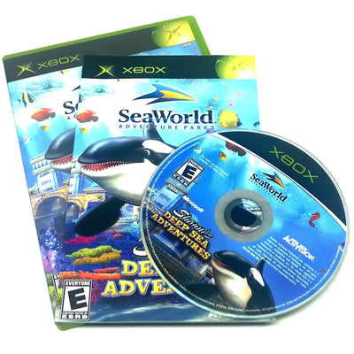 Game - SeaWorld: Shamu's Deep Sea Adventures