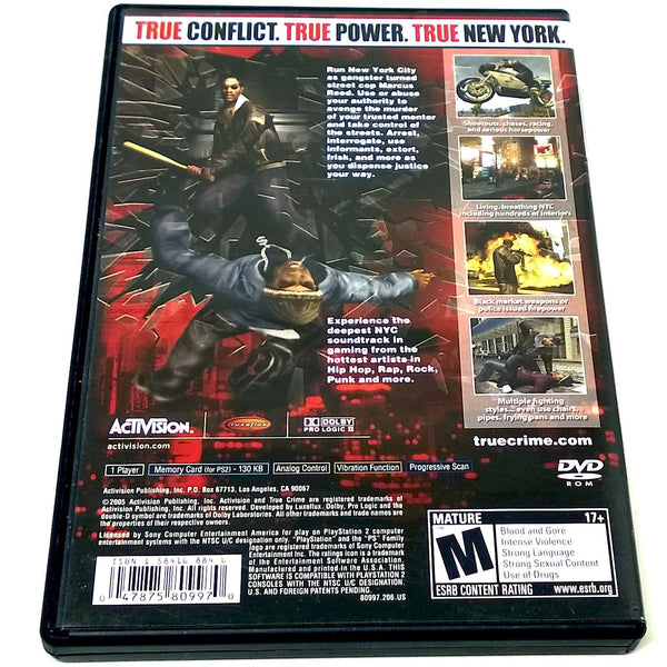 Buy True Crime New York City For Playstation 2 Ps2