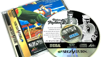 Virtua Fighter 2 for Saturn (import)