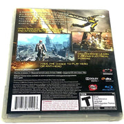 inFamous for PlayStation 3 - Back of case