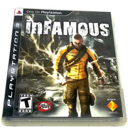inFamous for PlayStation 3 - Front of case