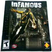 inFamous for PlayStation 3 - Front of manual