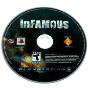 inFamous for PlayStation 3 - Game disc
