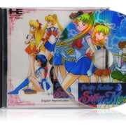 Pretty Soldier Sailor Moon English Reproduction | TurboGrafx-16 CD | Case and disc