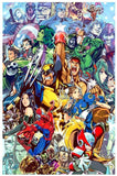 Marvel vs. Capcom 3 Silk Poster