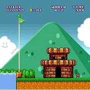Super Mario All-Stars SNES Super Nintendo Game - Screenshot