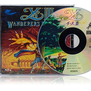 Ys III: Wanderers from Ys Reproduction | TurboGrafx-16 CD | Case, Manual, Disc