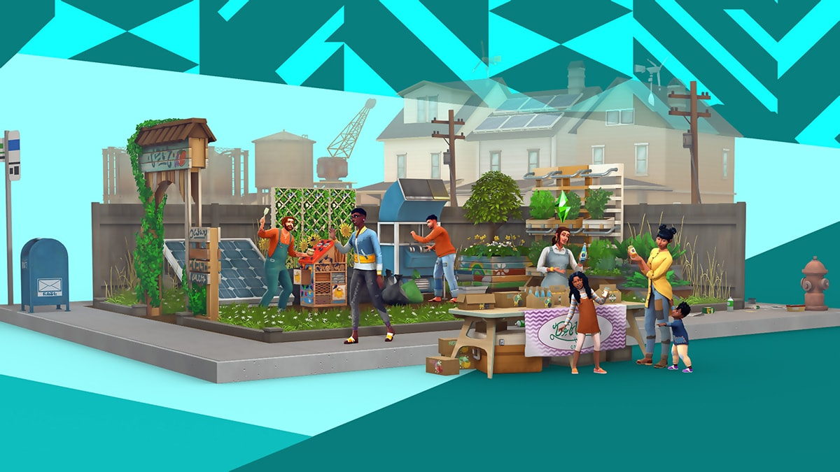 The Sims 4: Eco Lifestyle | PC Mac | Origin Digital Download
