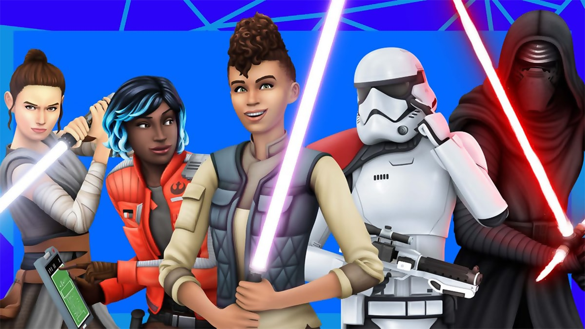 The Sims 4: Star Wars - Journey to Batuu | PC Mac | Origin Digital Download