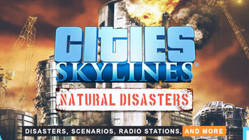 Cities: Skylines - Natural Disasters PC Game Steam Digital Download