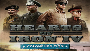 Hearts of Iron IV: Colonel Edition PC Game Steam CD Key